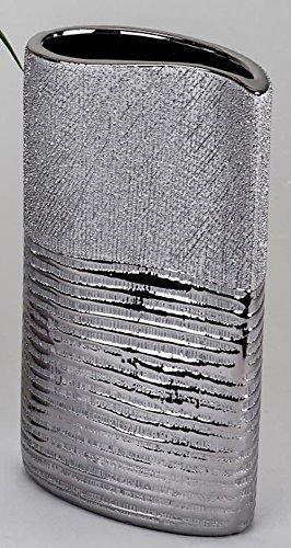 Formano-lgant-vase-moderne-avec-silberstreifen-26-cm-0