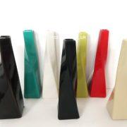 Vase-torsade-blanc-en-cramique-Dimensions-environ-25-cm--Idal-pour-fleurs-ide-cadeau-0-0