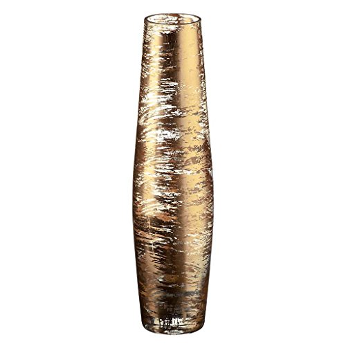 Vase-en-verre-Collection-GOLDEN-DUST-ortransparent-35-cm-fait–main-AMARA-DESIGN-powered-by-CRISTALICA-0