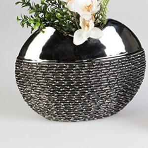 100-DCO-Vase--fleurs-BLACK-ROPE-en-CRAMIQUE-hauteur-de-26-cm-x-largeur-de-21-cm-0