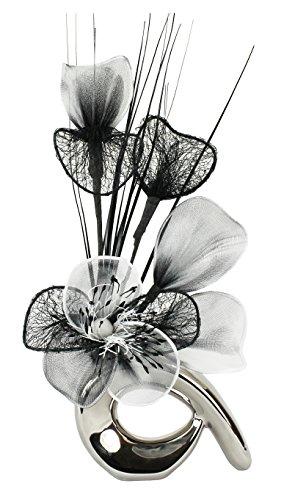 Flourish-Vase-avec-fleurs-chromenoirblanc-0