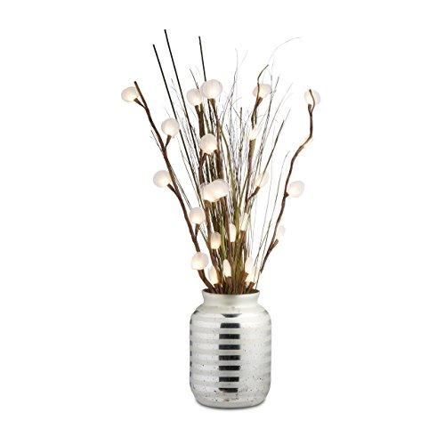 Relaxdays-Vase-pour-grandes-fleurs-dco-verre-gris-rayures-design-vase-table-HxlxP-32-x-22-x-22-cm-argent-0