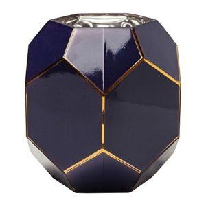 Vase-Art-bleu-nuit-22cm-Kare-Design-0
