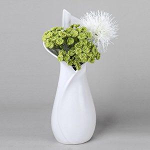 Vase-dcoratif-40-cm-blanc-argent-0