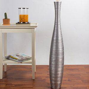 Leewadee-Grand-Vase-Dcoratif-90-cm-Bois-du-manguier-Argentin-0
