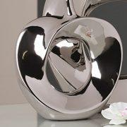 Vase-apple26-x-23-cm-argent-0
