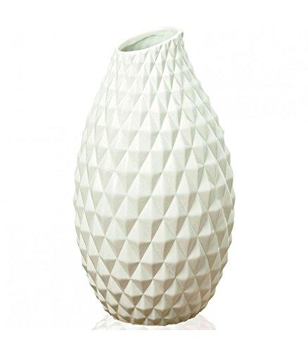 Vase-Design-Origami-en-Grs-Blanc-Hauteur-30cm-0