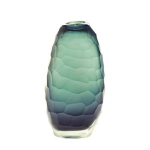 CRISTALICA-Design-Vase-en-verre-Deco-Vase-Collection-Moonlight-18-cm-gris-fait--la-main-verre-souffl-ART-GLASS-powered-0