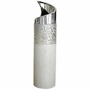 Vase-dco-moderne-vase--fleur-vase-en-cramique-champagne-argent-hauteur-40-cm-0
