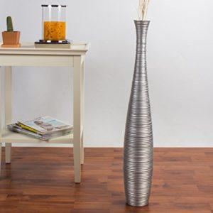 Leewadee-Grand-Vase-Dcoratif-75-cm-Bois-du-manguier-Argentin-0