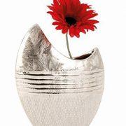 Vase-dcoratif-moderne-fleurs-cramique-argent-hauteur-23-cm-0