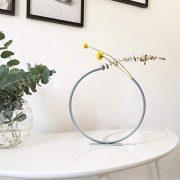 anaan-Loop-Soliflore-lgant-Tube-Vase-en-Mtal-Dco-Moderne-Vase--Fleurs-dcoratif-Decoration-Maison-Design-Haut-32x32cm-Blue-Haze-0-0