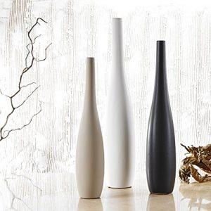 PureLifestyle-3pcs-Vases-Soliflore-Haut-59cm-51cm-455cm-pour-Fleur-Trois-Couleurs-Dcoration-en-Cramique-Porcelaine-Cratifs-Cadeaux-Mariage-Fte-Nol-0