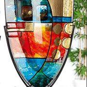 GILDE-GLAS-art-Nebra-Vase-Design-fabriqu--la-Main-en-Verre-Hauteur-57-cm-0-0