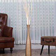 Leewadee-Grand-Vase-A-Poser-Au-Sol-pour-Branches-Dcoratives-Design-Vase-Haut-75-cm-Bois-de-Mangue-dor-0-0