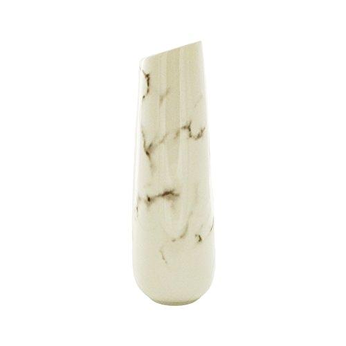 Tincogo-Vases-en-cramique-Blanc-lgant-Design-pour-la-dcoration-Blanc-0