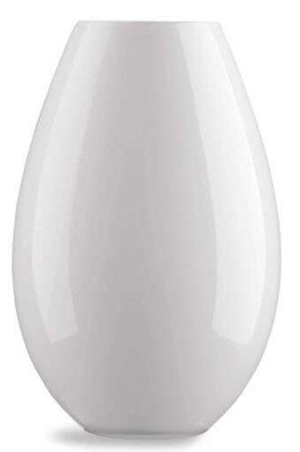 Holmegaard-Design-Cocoon-opalglasserie-Vase-Blanc-26-cm-0