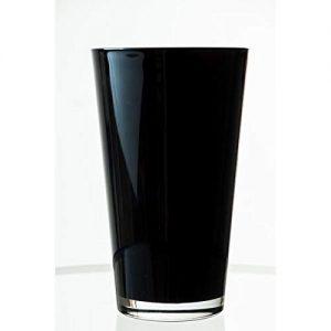 Vase-conique-en-verre-SALLY-noir-22-cm--13-cm-Vase--fleurs-Vase-dcoration-INNA-Glas-0