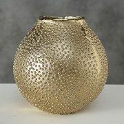 CasaJame-Maison-Dcoration-Accessoires-Ornement-Design-Vase--Fleur-en-Mtal-avec-Forme-dOursin-de-Mer-H1718cm-0-0