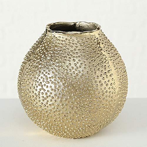 CasaJame-Maison-Dcoration-Accessoires-Ornement-Design-Vase–Fleur-en-Mtal-avec-Forme-dOursin-de-Mer-H1718cm-0